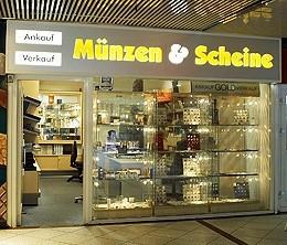 Münzenfachhandel, Berlin, Schmuck